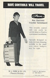 Advert from Drama 1970 Autumn: Electronic Traveller