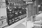 Photo: Studio DC power switching and voltage control was in use when the site was a film studio the ac/dc convertors are in the front right. output was about 2000 amps 110 volts