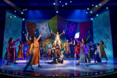 Josephs Dream scene from Joseph And The Amazing Technicolor Dreamcoat by Andrew Lloyd Webber and Tim Rice @ London Palladium. Directed by Laurence Connor.(Opening 11-07-19)