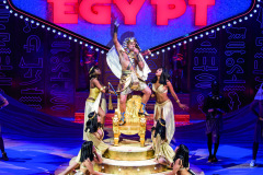 Song of the King scene from Joseph And The Amazing Technicolor Dreamcoat by Andrew Lloyd Webber and Tim Rice @ London Palladium. Directed by Laurence Connor.(Opening 11-07-19)