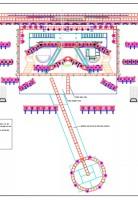 Pink lighting plot