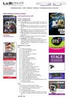 U2 – LSI 2009 Aug – 360 Equipment List