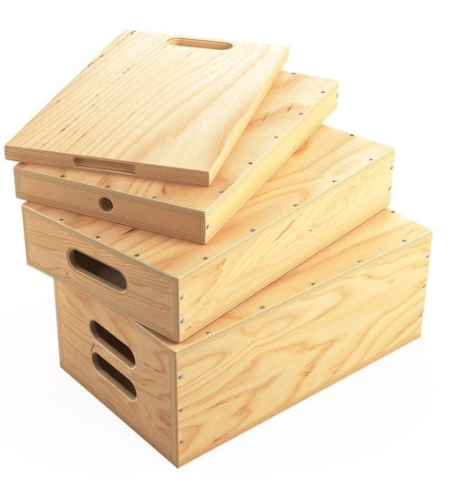 Apple Boxes from Udengo